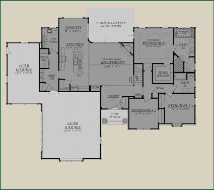 Living Concepts Floor Plans | House plans with photos